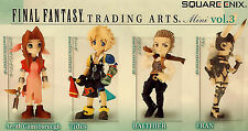 Final Fantasy Trading Arts Vol. 3 Mini Figure Set of 4 SQU80819