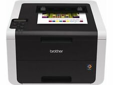 Brother Wireless Color LASER PRINTER, 250 Sheet Capacity Duplex PRINTER, Black