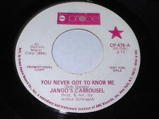 Jango's Carrousel: You Never Got To Know Me/ A Page Upon The Ages Of Eternity 45