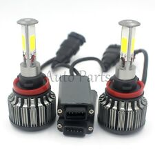 H11 120W 12000LM 4-Sided LED Headlight Kit Low Beam Bulbs 6000K White High Power