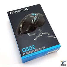 Logitech G502 Proteus Spectrum RGB Tunable Gaming Mouse, FPS Mouse