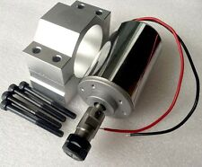 1pcs NEW CNC DC12-48V ER11-200W ER11-3.175 Spindle Motor  + Mount Engraving Kit
