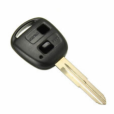 2 Button Remote Key Case Shell Blade Fob For TOYOTA YARIS COROLLA CELICA COROLLA