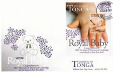Tonga Royal Baby Prince George Alexander Louis 2013 Bear Toy (miniature FDC)