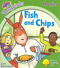 Oxford Reading Tree: Stage 2: Songbirds: Fish and Chips (Ort Songbirds Phonics S