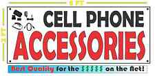 CELL PHONES ACCESSORIES Banner Sign for Computer SHOP convience store Smart