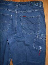 FUBU Carpenter Jeans Mens 38x31 Dungarees Blue Denim Pants Work Casual 6j49