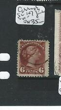 CANADA (P0309B) QV 6C SMALL QUEEN RED BROWN SG 167 HUGE JUMBO  VFU