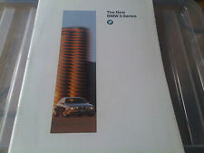 The New BMW 5 Series Brochure 1996 520i 523i 528i 525 tds