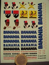 "DECALS BOISSON CHOCOLATEE "" BANANIA "" - T303"