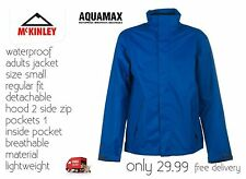 Mckinley Aqua Max Pro Lightweight Jacket Adult Size Small Regular Fit Blue