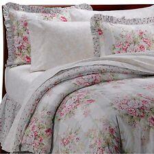Eliza Vintage Chic Complete Bed in Bag Comforter Quilt Set TWIN Rose Pink Girls