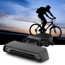 Bicycle Bike Indicator LED Rear Tail Light USB Wireless Remote Control 2 Laser V