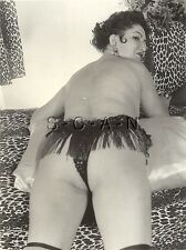 Org Vintage 40s-60s Nude RP- Well Endowed Mature Woman- Panties- Stockings- Butt