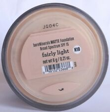 Bare Escentuals bareMinerals Authentic Matte foundation Fairly Light 6g NEW
