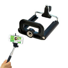 New Smart Phone Stand Clip Bracket Holder Tripod Monopod Mount Adapter Pop
