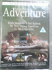 RUSSIAN FISHING ADVENTURE - FISHING PRODUCTIONS - DVD (NEW SEALED)