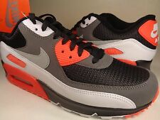 Nike Air Max 90 OG Reverse Infrared White Cool Grey Black SZ 13 (725233-006)
