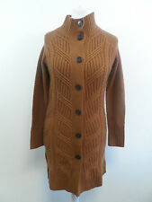 Pure Collection Cable Coat Tan Size S Box4303 C