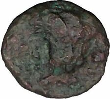 Rhodes, Islands off Caria 394BC RARE Ancient Greek Coin Nymph Rose   i44874
