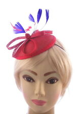 Red and Blue Hatinator with comb and elastic Hatinator  Wedding Races