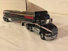 Franklin Mint 1:43 scale Freightliner Mack Texaco Tanker Tractor Trailer w/box