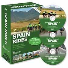 Global Ride: Spain Series Virtual Cycling DVDs Boxed Set
