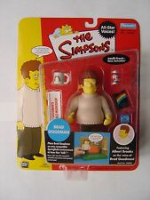 THE SIMPSONS WOS World of Springfield Brad Goodman Figura NUOVO CON SCATOLA compagni di gioco