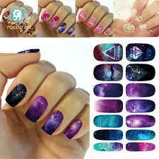 12tips Sexy Nail Art Sticker Water Transfer Star Decals Tips 3D Decal Decoration