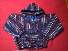 Ethnic Mexican Baja Surfer Hoodie Pullover Jacket Coat for Toddler Boy Age 4/5