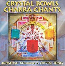 Crystal Bowls Chakra Chants by Jonathan Goldman (CD, Apr-2009, Spirit Music)