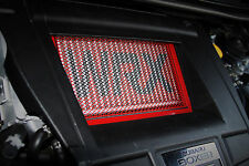 AVT 2015-2017 SUBARU WRX FA20DIT TMIC INTERCOOLER GUARD SCREEN COVER RED-RED