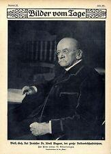Geh.Rat Prof.Dr.Adolf Wagner (Nationalökonom) Historische Aufnahme von 1910