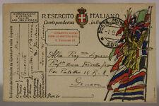 POSTA MILITARE 109 7.9.1918 FRANCHIGIA (COMANDO 15a DIVISIONE FANTERIA) #XP455D
