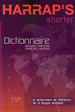 Dictionnaire HARRAP'S Shorter : Anglais Français 2006 NEUF