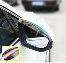 FOR MAZDA 3 6 09-13 GH BL SIDE DOOR MIRROR RAIN GUARD VISOR SHIELD COVER SHADE