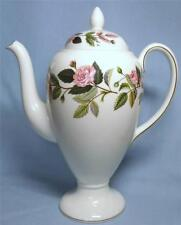 WEDGWOOD LARGE COFFEE POT HATHAWAY ROSE DESIGN R4317