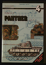 TANK POWER PzKpfw V PANTHER Vol 4 Waldemar Trojca First Ed2000 AJ Press Softback