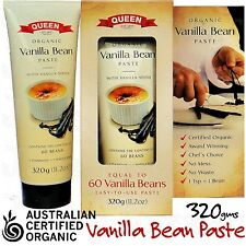 Vanilla Beans QUEEN Vanilla Bean Paste Certified Organic 320g/11.2oz with Seeds
