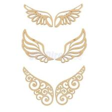 Wings Unfinished Wood Laser Cut Crafts Supplies DIY Scrapbooking Decor