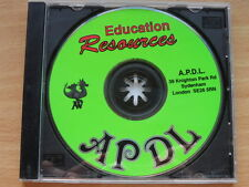 Education Resources CD for Acorn RISC OS computers