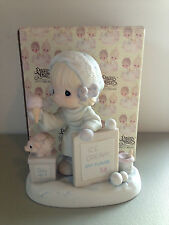 PRECIOUS MOMENT FIGURINE - WISHING YOU A YUMMY CHRISTMAS - 109754 - SUSPENDED