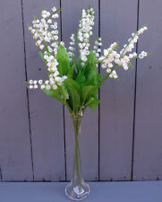 Artificial Lily of the Valley Flowers - 6 x 59cm Sprays