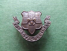 W.W.2.  THE LOYAL REGIMENT.  OFFICERS.  COLLAR BADGE. SUPERB CONDITION.