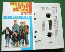 New Kids on The Block You Got It (The Right Stuff) Cassette Tape Single - TESTED