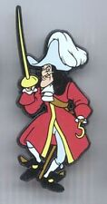 Disney Villain Captain Hook Standing Peter Pan UK platic Pin/Pins