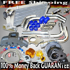 Turbo Kits T3/T4 Turbo for 99-02 Jetta GLS Sedan 4D/95-98 VW Golf GTi VR6 V6only