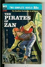 PIRATES OF ZAN & MUTANT WEAPON by Leinster rare US Ace sci-fi pulp vintage pb