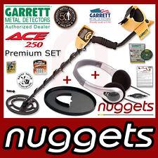 GARRETT ACE250 ACE 250 BESTSELLER bei nuggets Metalldetektoren +Schutz+Kopfhörer
