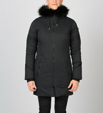 NEW SPYDER LUMYN FAUX FUR TRIM INSULATED JACKET PARKA WOMENS BLACK XS 5k / 5k